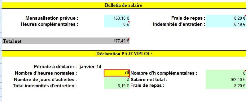 bulletin de salaire AM